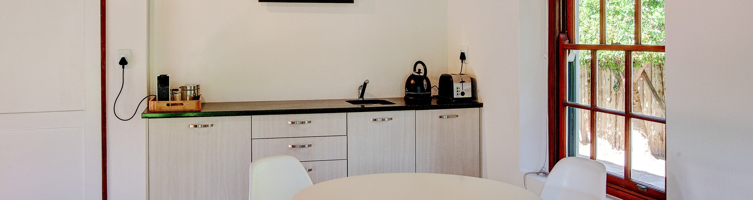kitchenette, self-catering, nespresso coffee