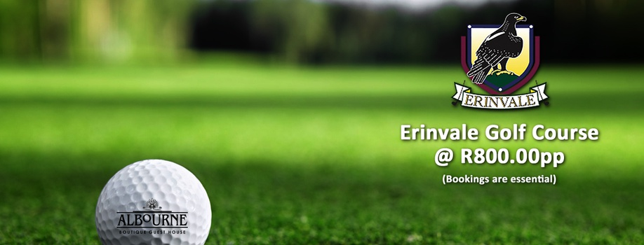 Erinvale golf course, discounted rates